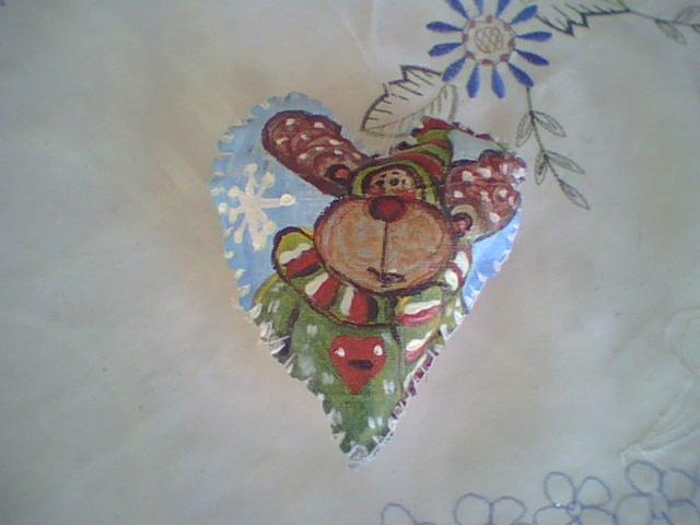 Adornos navide os adornos navide os pintados a mano - Adornos navidenos a mano ...