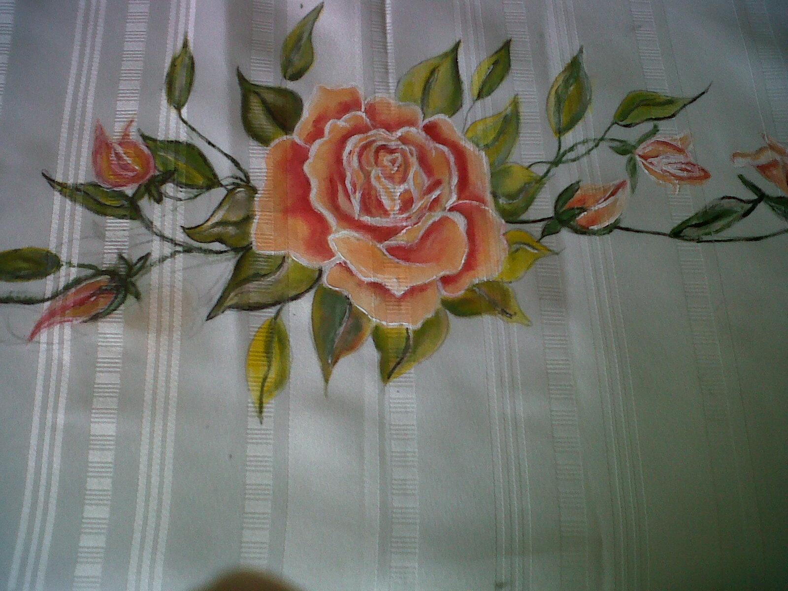 Tejas decorativas estilo caribe o pintura en tela - Pintura en tela motivos navidenos ...