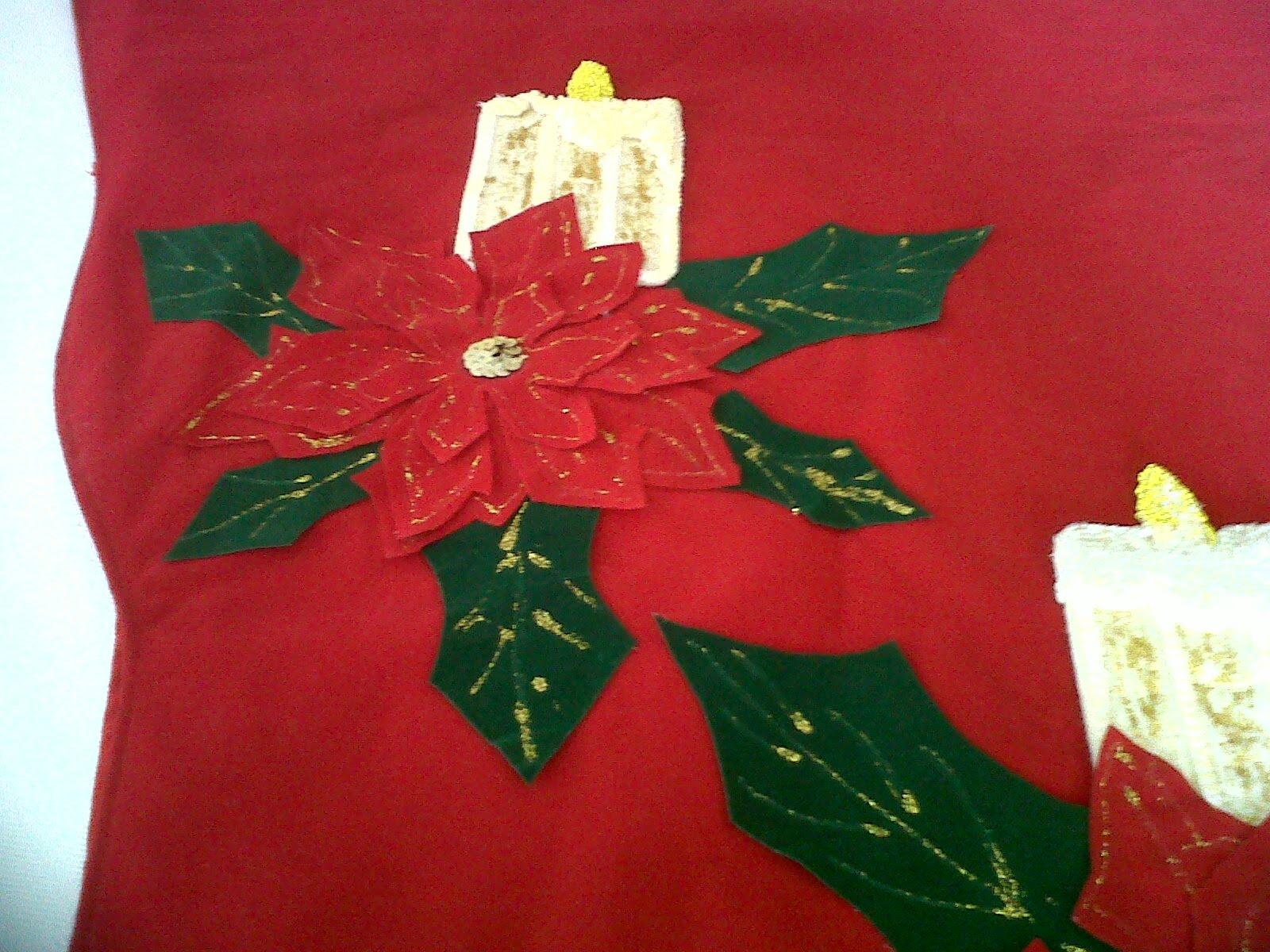 Adornos navide os camino de mesa navide o for Adornos navidenos para mesa