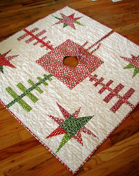 Stash resolution tutorial roundup christmas tree skirts