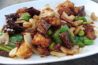 Fried Chicken meat with Cashew nut