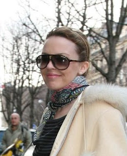 Kylie Minogue and Carrera Champion Sunglasses