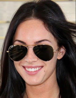 Megan Fox Sunglasses - Ray-Ban 3025 Aviators