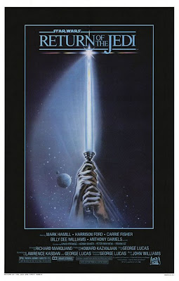 Return of the Jedi Teaser poster -- My favourite Star Wars movie poster