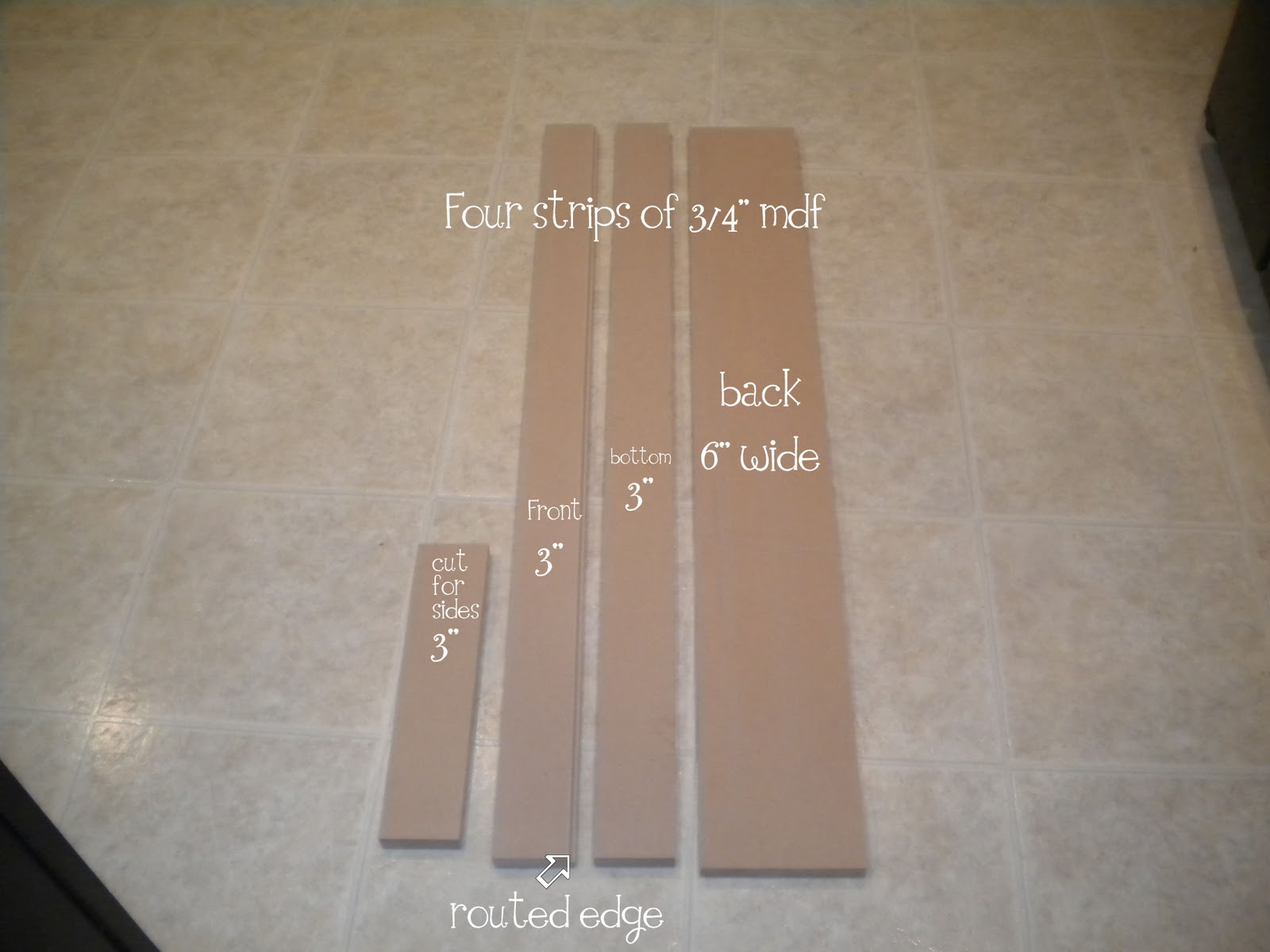 bookcase plans mdf