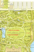 best, favorite central park map