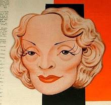 Marlene Dietrich Postcard Gallery