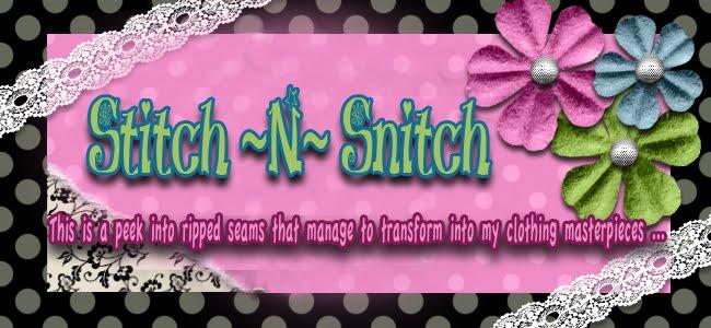 <br><br>Stitch -N- Snitch