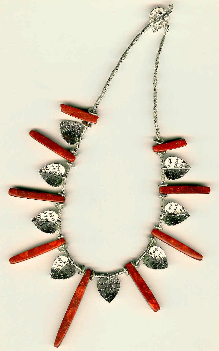 78. Coral with Karen Hill Thai Sterling Silver