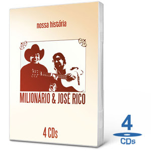 Download CD Milionário e José Rico Coletânea 4 Cds 2010
