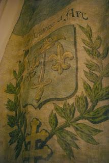 アンティーク ジャンヌダルク 旗