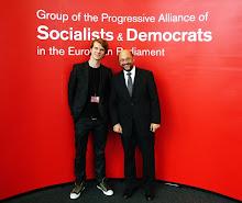 Minä ja Martin Schulz