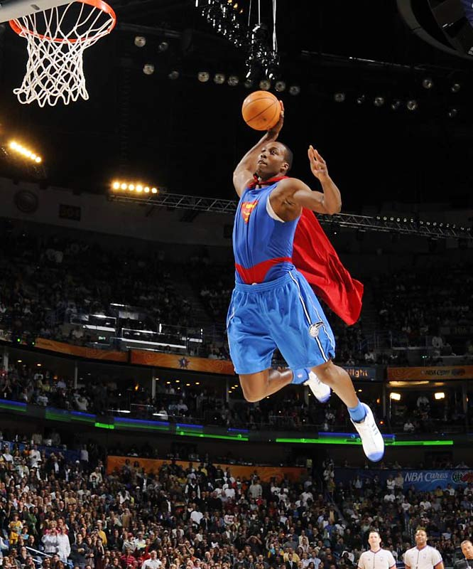 dwight howard dunking pictures. NBA Slam Dunk Contest