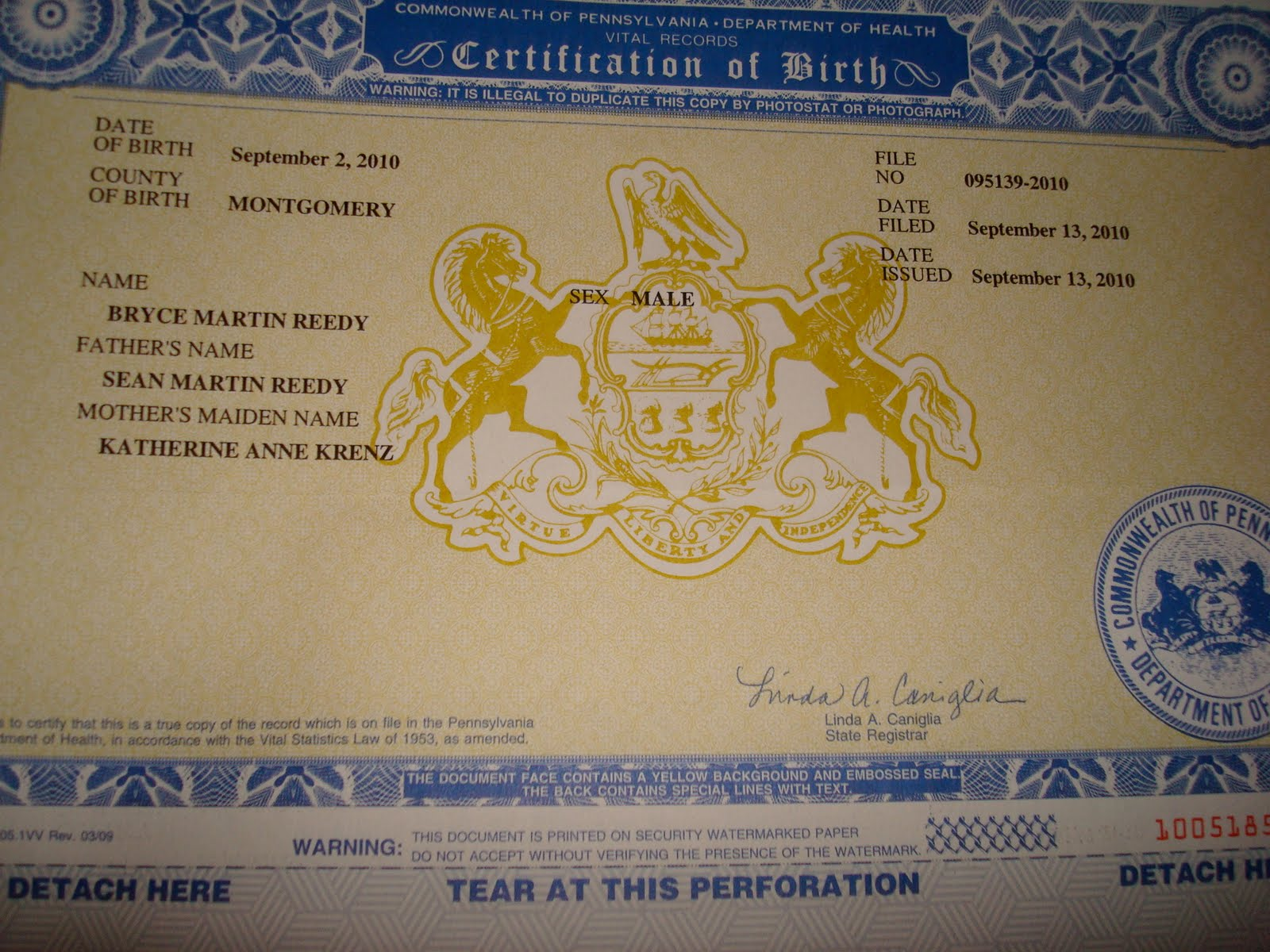 The reedy family documentary belly button graduation birth he has a birth certificate now were waiting for his social security number aiddatafo Images