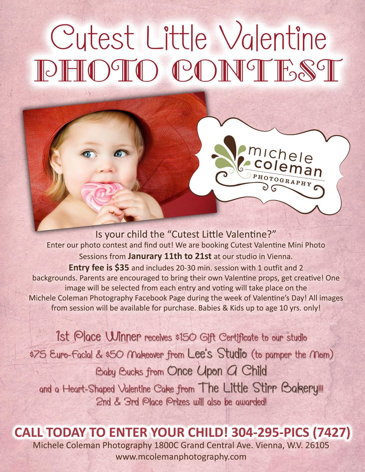 Cutest Little Valentine Photo Contest! | Michele Coleman ...