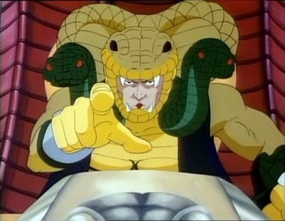 Serpentor cartoon