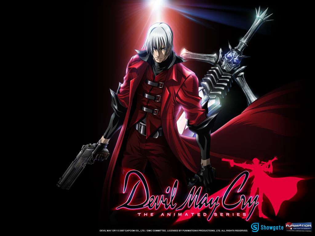 Dante with Weapons devil may cry anime 7525408 1024 768 Movie Review: Devil May Cry Animated Series