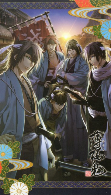 Anime & Manga 4 All: Hakuouki Shinsengumi Kitan