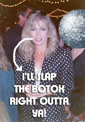 'Knots Landing' Star, Donna Mills Says No To Plastic Surgery