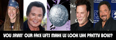 Axel Rose, Wayne Newton, Mickey Rourke and Tom Jones Are All Male Fans Of The Face Lift