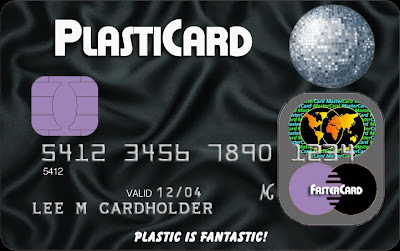 Plastic Surgery Mock Credit Card