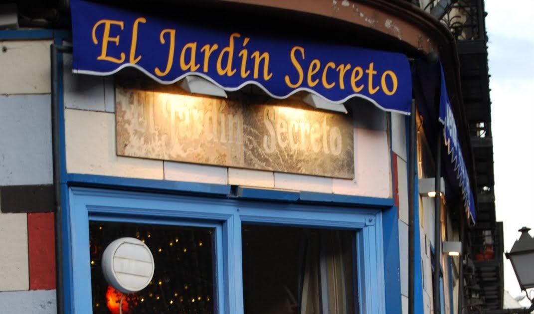 Mimichelinteguia el jardin secreto for Cafe el jardin secreto