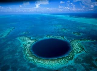 Velika plava rupa Belizea - Najdublja rupa u moru