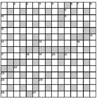 Octopussy crossword