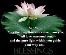 Sat Nam Blessings