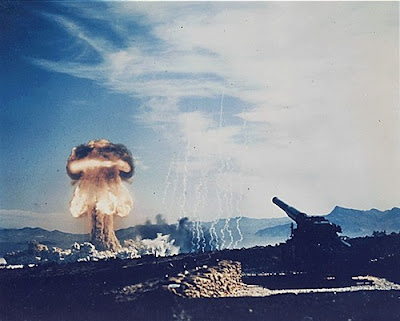 The first atomic artillery shell was fired from a 280 mm gun