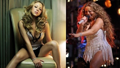 mariah carey fat