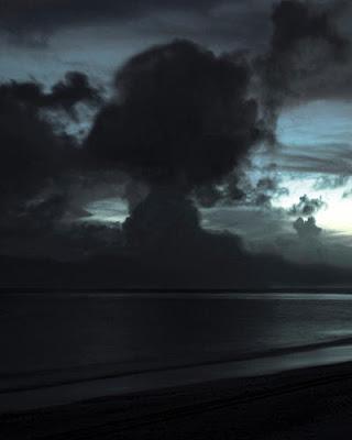 Bikini Island, Clouds over Bikini Lagoon 1999