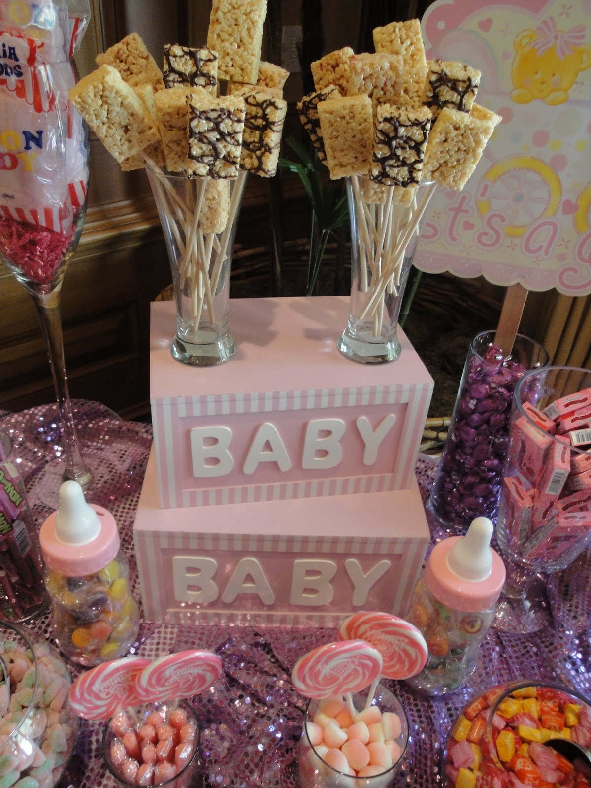 candy buffets event industry bl stacey 39 s sweet pink baby shower