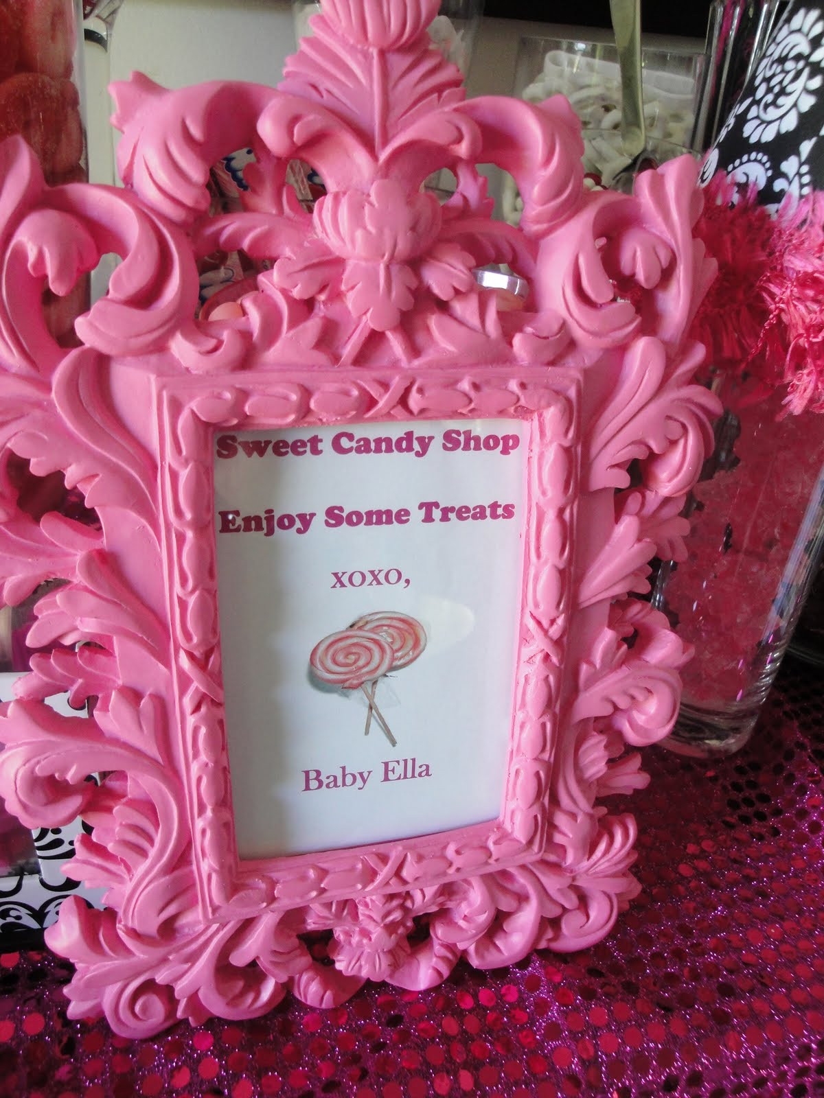 ... Baby Shower Candy Buffet With Pretty Pink. Updated: ...