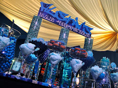 Custom Bat, Bar &amp; B&#39;Nai Mitzvah Candy Stations