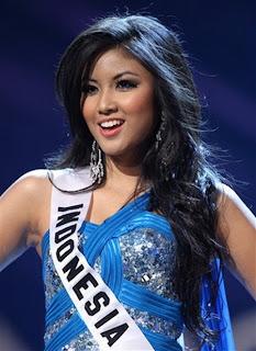 Zivanna Letisha Siregar Miss Universe 2009