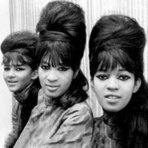 The beehive hairstyle (as worn by the Ronettes)