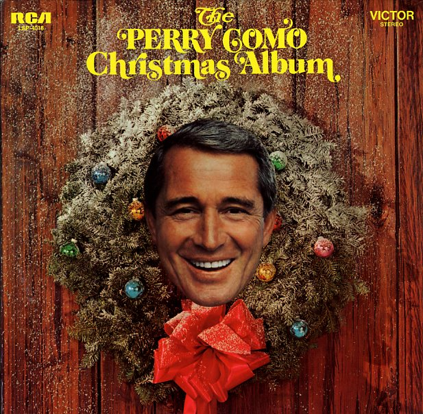 Holiday guests perry como s decapitated head hanging on your door