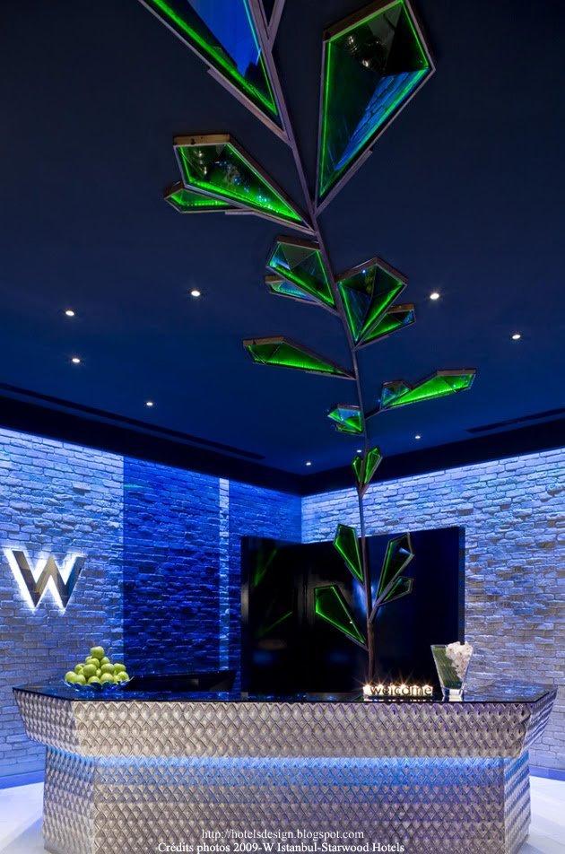 W Istanbul_2_Les plus beaux HOTELS DESIGN du monde
