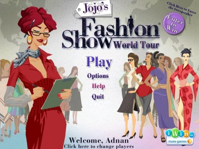 Welcome To My Blog: Jojo's Fashion Show 3: World Tour