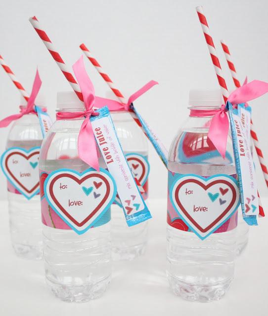 Crazy Straw Valentines