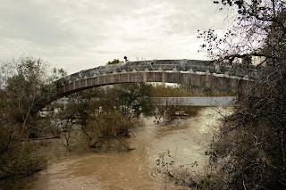 Puente-arco del acueducto de Los Hurones. (La Barca de la Florida)