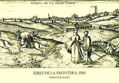 Jerez de la Frontera. (George Hofnaglius. 1564)
