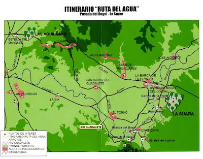 Mapa de itinerario
