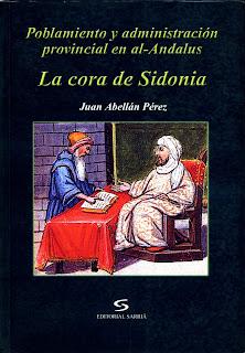 Portada del libro 'La cora de Sidonia'
