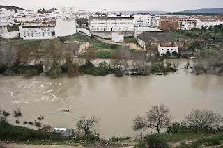 Inundación en Extramuros. Arcos