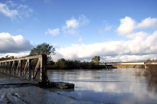 Antiguo puente de hierro. Villamartín