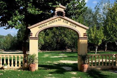 Venta 'Junta de los Ríos': jardines
