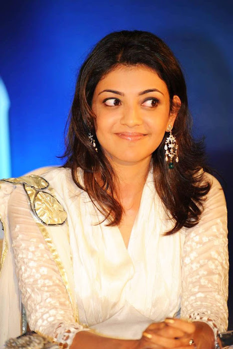 kajal agarwal bouncy looks robo music launch hot photoshoot