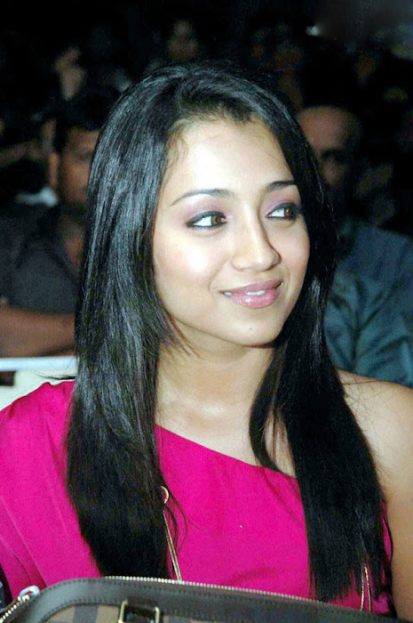 trisha spotted in pink at a event latest photos